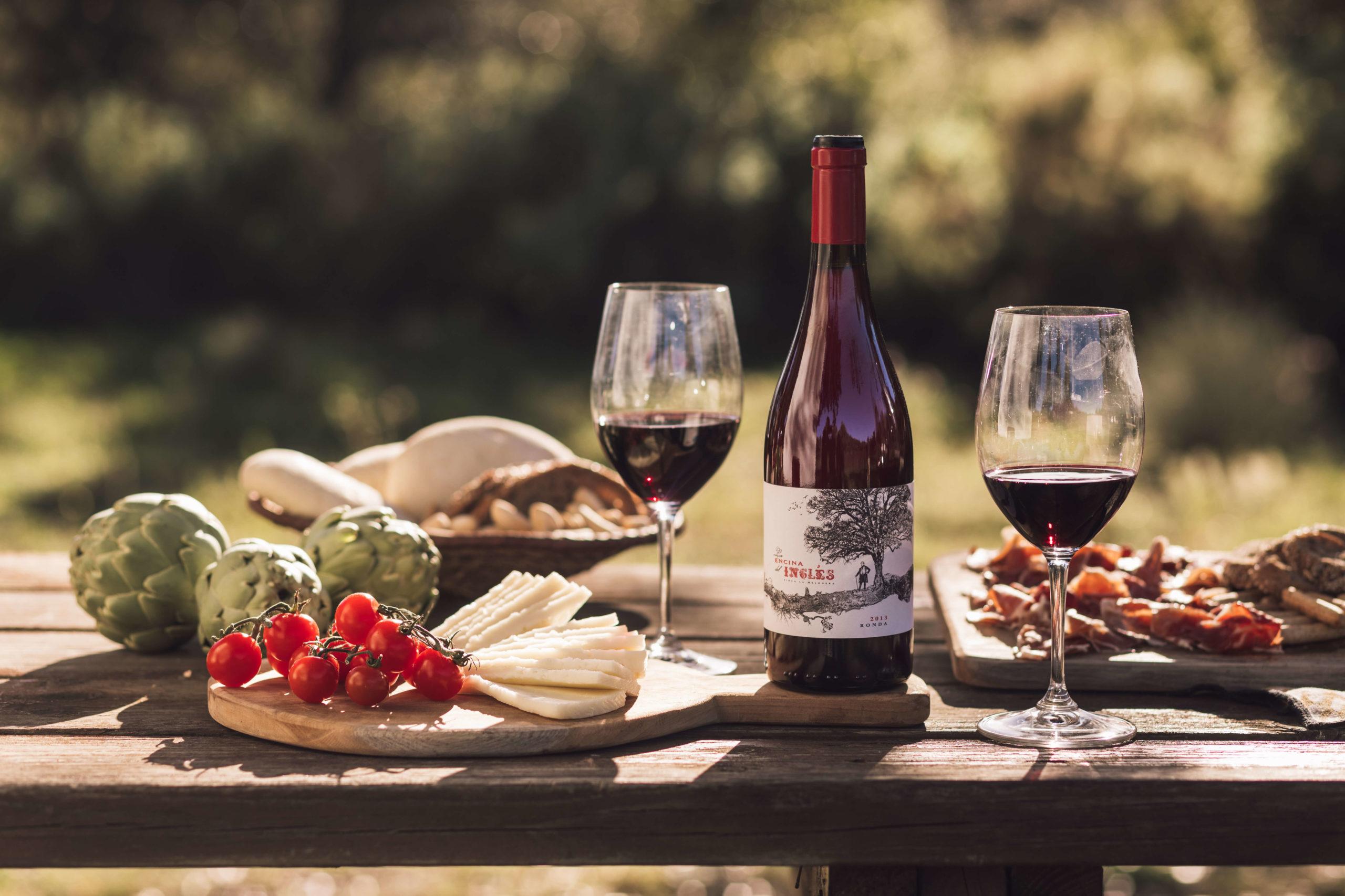 maridaje para un vino tinto